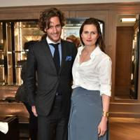 Lawrence van Hagen and Fiammetta Egalini