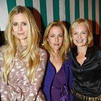 Laura Bailey, Gillian Anderson and Mariella Frostrup