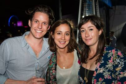 Will Chelsom, Melissa Beasley and Alex Llewellyn