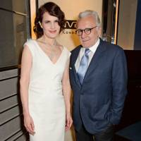 Elizabeth McGovern and Alain Ducasse