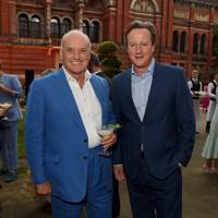 Nicholas Coleridge and David Cameron