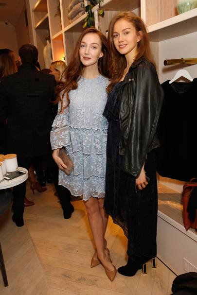 Olivia Grant and Lucy Chappell