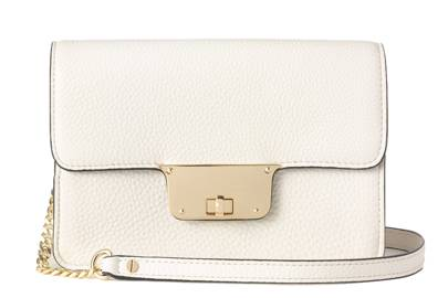 Leather bag, £126, by Milly