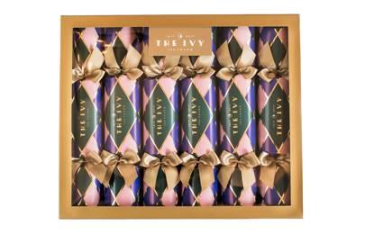 The Ivy Centenary crackers