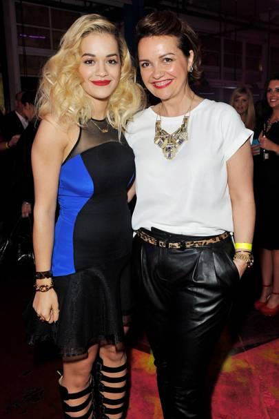 Rita Ora and Vera Ora