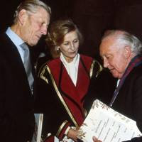 The Hon Sir Angus Ogilvy, Princess Alexandra and the Very Reverend Eric Evans