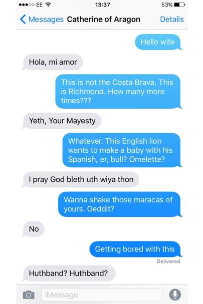 tudor sexting henry viiis texts henry viii wives