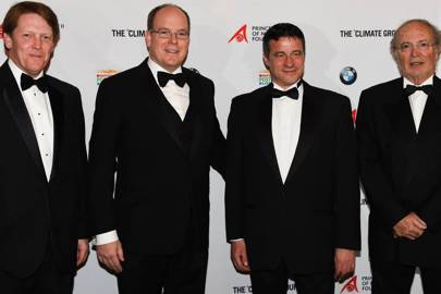 Phil Levermore, Prince Albert II of Monaco, Mark Kenber and H.E. Bernard Fautrier