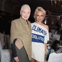 Vivienne Westwood and Pamela Anderson