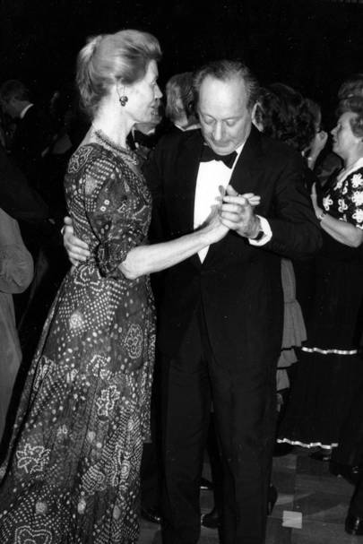 Lady Barbara Bossom and Edgar Astaire