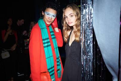 Jess Cole and Florence Clapcott