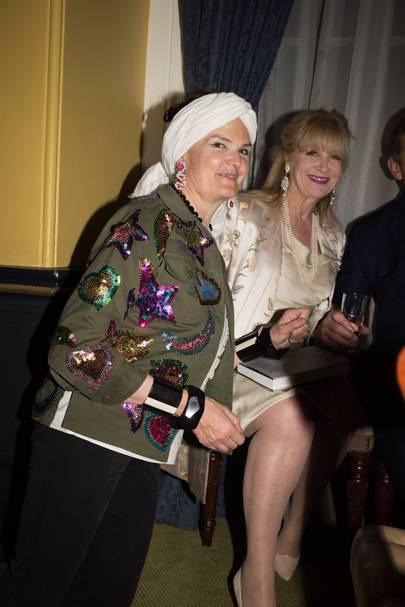 Lady Emma Fellowes and Anne Hodson-Pressinger