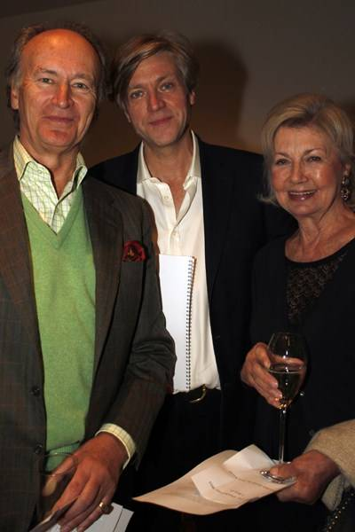 Christophe Gollut, Tom Smail and Lady Jane Rayne