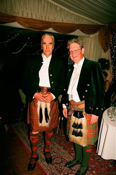 Angus Hay and The Earl of Kinnoul