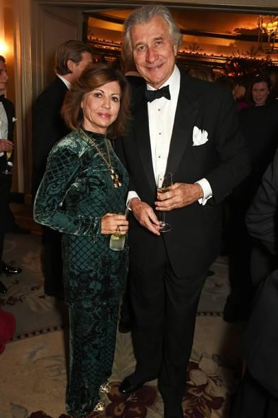 Pilar Boxford and Arnaud Bamberger