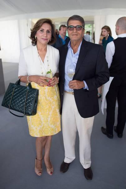 Janak Hirdaramani and Mona Hirdaramani