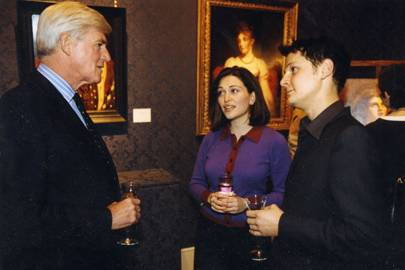 Lord Parkinson, Shebah Ronay and Jonathan Yeo