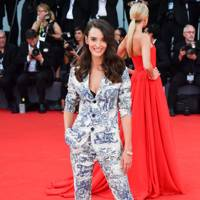 Charlotte Le Bon at the opening ceremony
