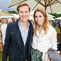 Dave Clark and Princess Beatrice
