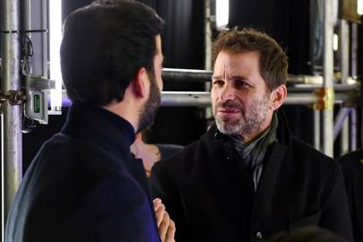 Ayman Hariri and Zack Snyder