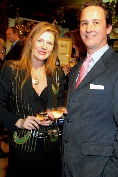 Lady Tania Compton and the Duke of Argyll