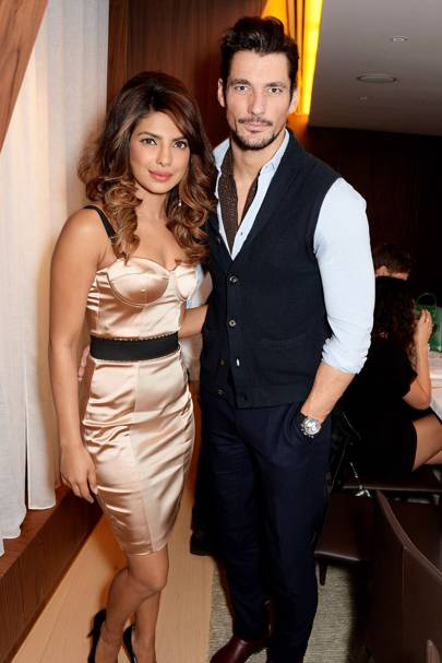 Priyanka Chopra and David Gandy
