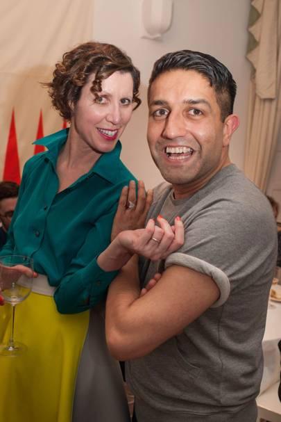 Valeria Napoleone and Osman Yousefzada
