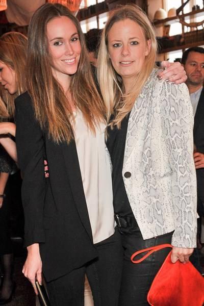 Eveie Longdon and Astrid Harbord