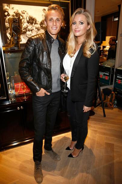 Max Chilton and Hayley McQueen