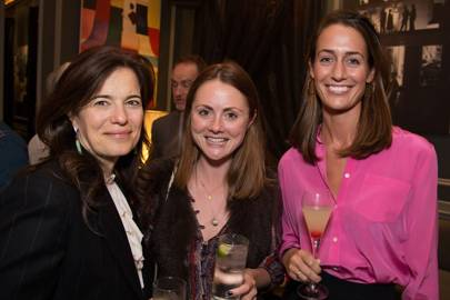 Kate Slesinger, Louisa Parker Bowles and Laura Houldsworth