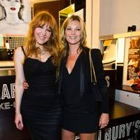 Kate Moss and Charlotte Tilbury