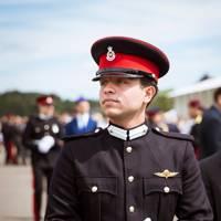 Crown Prince Hussein of Jordan, 23