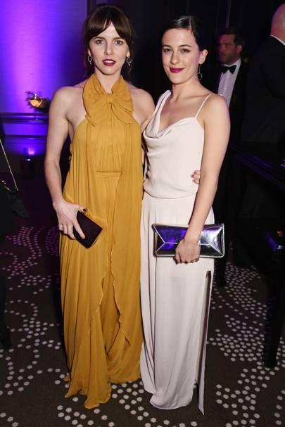 Ophelia Lovibond and Phoebe Fox