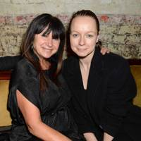 Fran Cutler and Samantha Morton