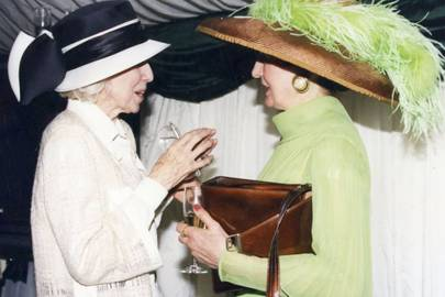 Jean Marchioness of Ailesbury and Mrs John Wilkinson