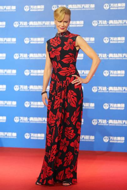 Wearing Prada at the Qingdao Oriental Movie Metropolis ceremony, 2013