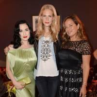 Dita Von Teese, Poppy Delevingne and Jade Jagger