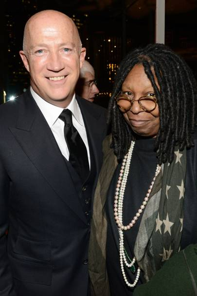 Bryan Lourd and Whoopi Goldberg