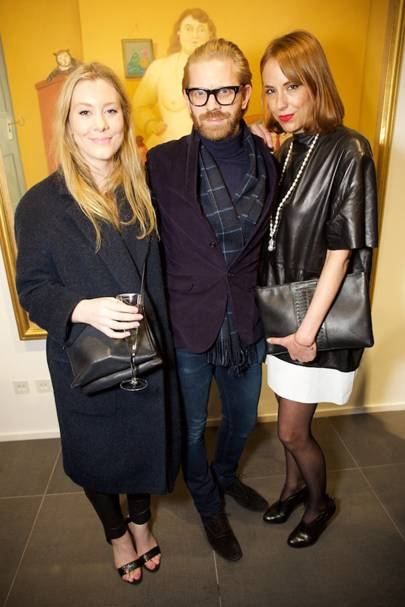 Lilly Barton, Alistair Guy and Vanessa Arelle