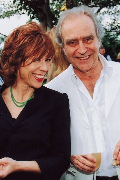 Mrs Geoffrey Robertson and Gerald Scarfe