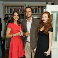 Alex Pakenham, Charlie Gilkes and Olivia Grant