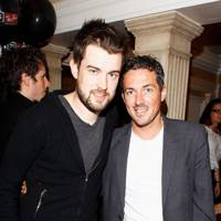 Jack Whitehall and Dave Gardner