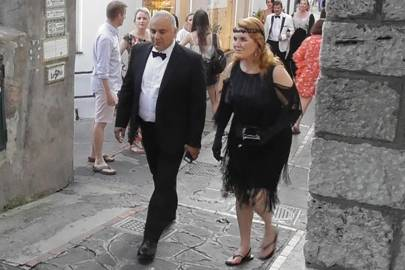 Sarah, Duchess of York channels the Great Gatsby at 60th birthday party of Canadian billionaire