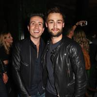 Nick Grimshaw and Douglas Booth