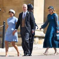 Princess Eugenie, Prince Andrew and Princess Beatrice