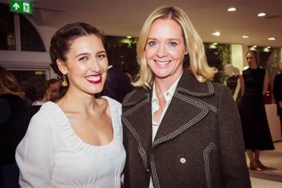 Emilia Wickstead and Kate Reardon