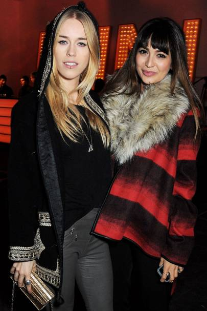 Mary Charteris and Zara Martin