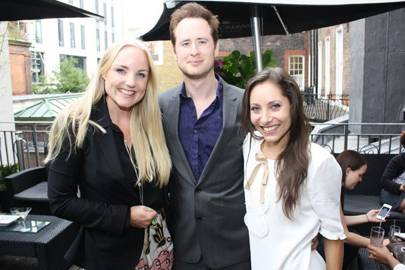 Kerry Ellis, Damian Collier and Anna-Marie Wayne