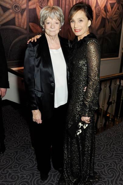 Dame Maggie Smith and Kristin Scott-Thomas