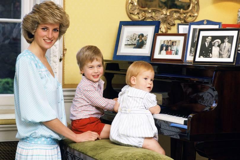 Princess Diana Fired Royal Nanny Surrogate Mother Baba Barnes Prince William Harry Tatler